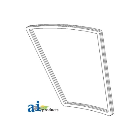 Tractor Cab Glass RE22488 - Cab Sealing Trim