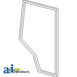Tractor Cab Glass 109596C1 - Seal, Cab Door, RH
