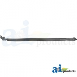 Tractor Cab Glass RE22487 - Weatherstrip, Upper Cab Door