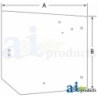 Tractor Cab Glass 4272760M1 - Cab Upper Rear
