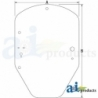 Skid Steer Loader Cab Glass T344818 - Windshield, Standard Duty
