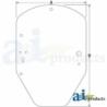 Skid Steer Loader Cab Glass T344818 - Windshield, Standard Duty
